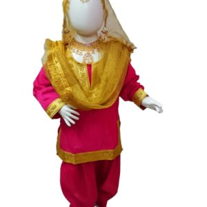 Bhangra Giddha dress for Girls